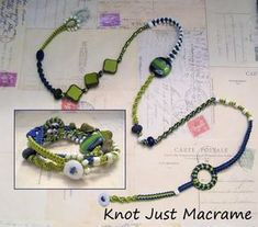 Multi Wrap Macrame Bracelet Tutorial