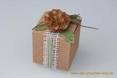Gastgeschenke Hochzeit rustikal. www.der-schachtel-shop.de