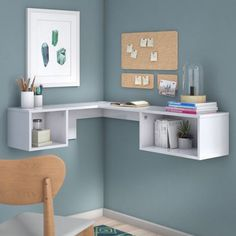 Wall-Mounted Furniture Is the Stylish Space Saver You Need in Your Life | Brit + Co