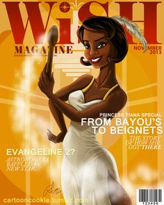 WiSH Magazine: Tiana Edition by racookie3 on deviantART