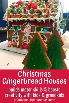 Here are 8 Christmas activities and celebrations your kids/grandkids will love! Making gingerbread houses from dough & popsicle sticks, candy trains, 4 tips to decorating Christmas trees with kids/grandkids, making life-size hugs for gifts, Christmas books & more. #christmas #christmastraditions #christmastraditionsfamilies #christmastraditionsideas #christmastraditionsbooks #grandparentsandchristmas #grandparentscrafts #grandparentsactivities Christmas Music For Kids, Christmas Books For Kids, Holiday Crafts For Kids, Holiday Fun, Christmas Traditions Kids, Christmas Activities, Craft Activities, Christmas Stickers, Christmas Paper