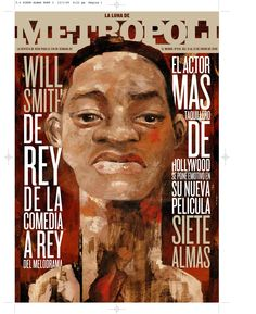Portada Metrópoli de El Mundo. Director de arte Rodrigo Sanchez .Ilustracion Raul ARias