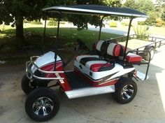 on custom paint harley davidson golf cart.html