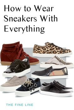 save off c65b1 a32fa Fall Trends - How to Wear Sneakers With Everything