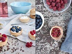 Fresh Berries Tartlets
