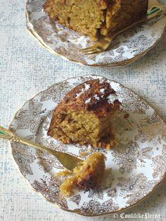Cook like Priya: Vegan Coconut Cake | Coconut Jaggery Cake | Egg-free Butter-free Dairy-free Cake