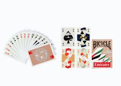 Make new friends over a game of cards, wherever you are in the world. These Emirates playing cards were uniquely created by our in-house design team and produced by the US based Bicycle Playing Cards. Each face card features intricate details representing the different nationalities of our cosmopolitan pilots and crew, and the background of the cards are designed to match their iconic uniform. #eos #emiratesofficialstore #emirates #playingcards #cabincrew #pilot #cards #bicycleplayingcards