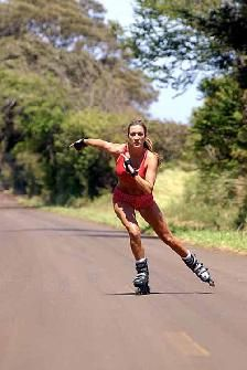 Rollerblading....definitely going to do this like I used to!!!