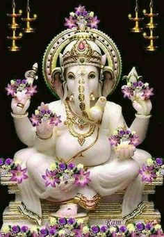 Lord ganesha can be workshipped at any time and at any place and easy for devotees to seek his blessings. Workship lord ganesha on tamil new year to get lot of blessings. Shri Ganesh, Ganesh Lord, Ganesha Art, Lord Shiva, Krishna, Durga, Ganesh Tattoo, Ganesh Idol, Ganesh Statue