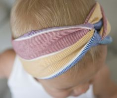 Because baby girls can have style, too!  Turbans for baby girls - so cute.