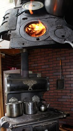 Wood Cook Stove - Cooking For Self Sufficiency