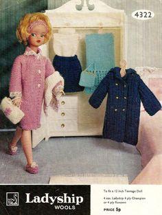Ladyship 4322 Vintage 12inch Sindy Doll by vintagemadamedefarge