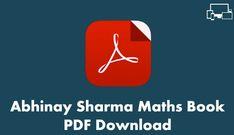Abhinay Sharma Maths Book PDF Download