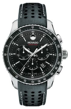 Movado 'Series 800' Chronograph Strap Watch | Nordstrom
