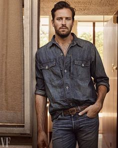 """Set to appear this fall in Sundance favorite Call Me by Your Name @ArmieHammer is the next person you should invite to a backyard BBQ. His ultimate happy place? """"Next to my grill in my yard."""" Tap the link in bio to see more of @VanityFair's 2017 Style Portfolio. : @craigmcdeanstudio  via VANITY FAIR MAGAZINE OFFICIAL INSTAGRAM - Celebrity  Fashion  Politics  Advertising  Culture  Beauty  Editorial Photography  Magazine Covers  Supermodels  Runway Models"""