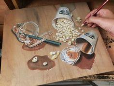 El Increíble Arte Realista Hecho en Madera por Ivan Hoo