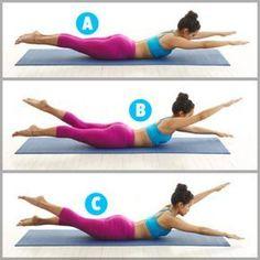Swimming é um exercício de Pilates para modelar o corpo e esculpir curvas