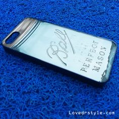 Mason Jar | iPhone 4 Case | iPhone 5 Case | iPhone 5C Case | iPhone 6 Case | Samsung Galaxy S4/S5 Cases - lovedrstyle