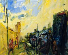 Early Morning, King Street, 2011 Oil on canvas #Kevin Connor