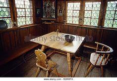 Where Max and Conrad confer Parlour in an historic farmhouse, Bauernhaus-Museum (Farmhouse Museum), Wolfegg,