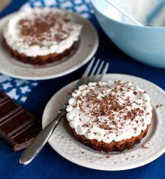 French Silk Brownie Pie
