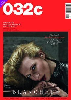 032c Magazine Issue 24: Cate Blanchett