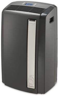 Delonghi Delonghi Pinguino 13 000 Btu Portable Air Conditioner In Dark Grey Cool Energy Saves