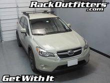 Subaru XV Crosstrek Thule Crossroad SQUARE BAR Roof Rack '13-'14*