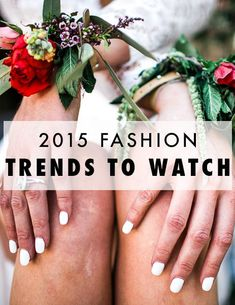 2015 fashion trends