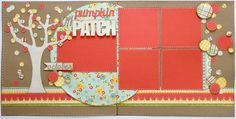 Lauren's Creative...: Pumpkin Patch Layout