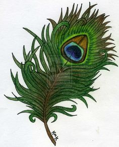 Peacock Feather Hip Tattoo Page 6