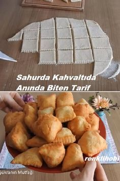 Albanian Recipes, Turkish Recipes, Ethnic Recipes, Cake Recipes, Breakfast Recipes, Bakery, Food Porn, Brunch, Food And Drink