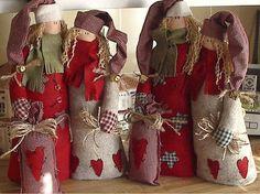 ready for Christmas! Christmas Gnome, Christmas Angels, Christmas Art, Beautiful Christmas, Handmade Christmas, Christmas Stockings, Christmas Holidays, Felt Crafts, Christmas Crafts