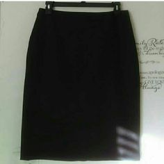 **NEW** DOC & Amelia by CINTAS Business Skirt! #1 BRAND NEW still in plastic business attire skirt by CINTAS uniform brand. Bought but NEVER used! Taking offers. Has zip up back with button as well as small slit in back. Extra button included. * total of 3 eAch selling separately* Doc &Amelia by CINTAS Skirts Pencil