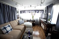 Featured Home: TrailerChic.com trailer remodel....Gorgeous!