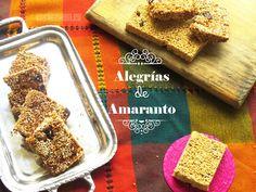 Alegrías de Amaranto. Un dulce típico mexicano on Cocina Sana