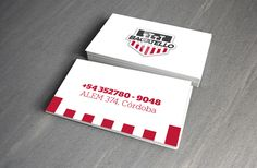 Racing Car Workshop Visit Card