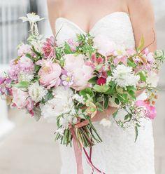 soft pink bouquet