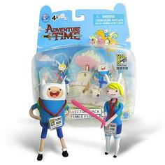 Entertainment Earth: Adventure Time Finn and Fiona 2 inch Figure Set