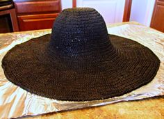 Shaping Your Floppy Sun Hat