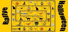 Afocal Bretagne. Un grand jeu de plateau sur le thème de Halloween, avec les étapes, les idées de défis, le plateau... Pensez à analyser le jeu en amont et à l'adapter aux besoins de votre groupe !