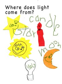 Physical Science/Light activity ideas for Kindergarten from Kindergarten Lessons.com/Science-activities