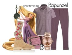 """Rapunzel"" by leslieakay ❤ liked on Polyvore featuring Gucci, Black Diamond, Tyler & Tyler, Common Projects, Nixon, men's fashion, menswear, disney, disneybound and disneycharacter"