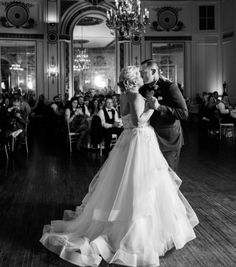 Colony Club- The venue is simply gorgeous and is a Detroit landmark. The space is primarily used for weddings and private events so they know what they're doing. <br>  2310 Park Ave, Detroit. Photo via @nikimariephoto.