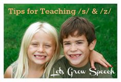 Tips for Teaching s and z by Let's Grow Speech - Re-pinned by @PediaStaff – Please Visit http://ht.ly/63sNt for all our pediatric therapy pins