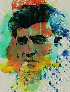 Johnny Cash Art | Uncovet