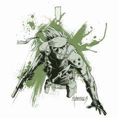 Snake - Metal Gear Solid - Zak Hartong