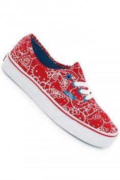 096343c5789146 Vans Authentic Shoes women (hello kitty high risk red hawaii) buy at  skatedeluxe