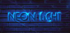 Create an unique neon text effect in Photoshop