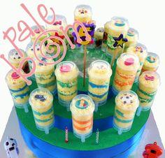 Tubipastel O PushCake RECUERDOS, DULCEROS, INVITACIONES PARA FIESTAS INFANTILES , PASTELES CUP CAKES CAKE POPS, CAKES PUSH UP